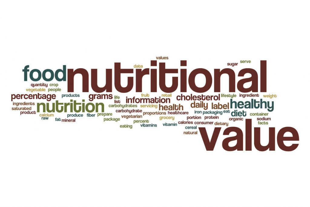 Ingredients and Nutritional Labels